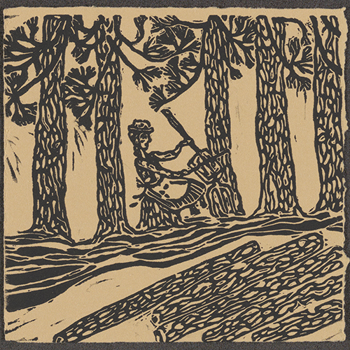 Woodcut from CD cover