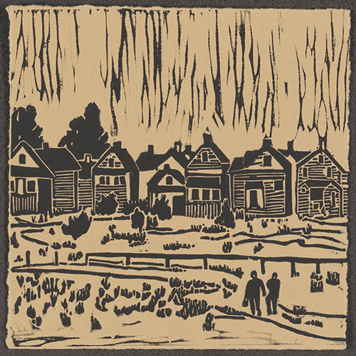 Woodcut from DVD cover